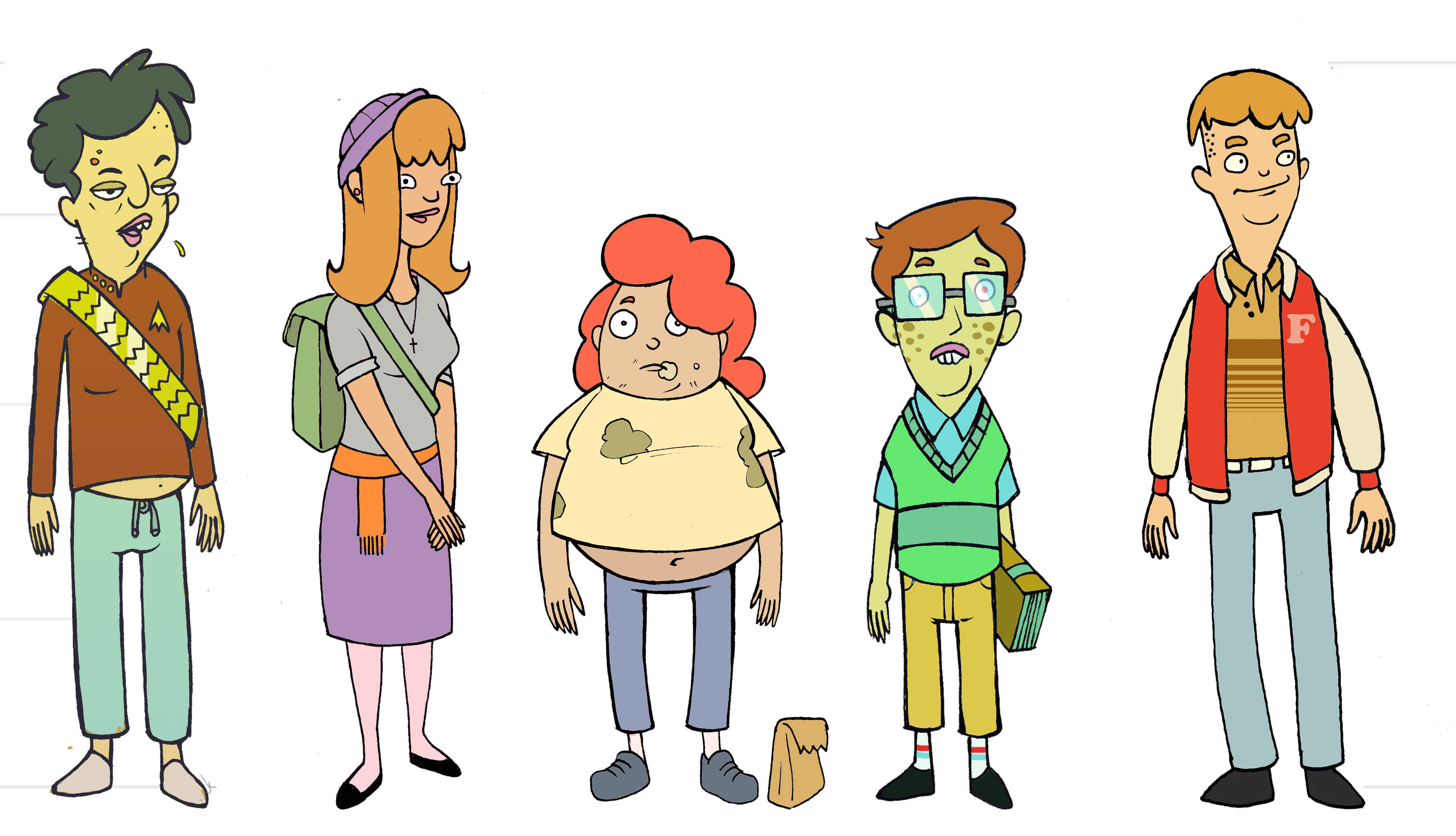 College For Character Design : Character designs eatcho